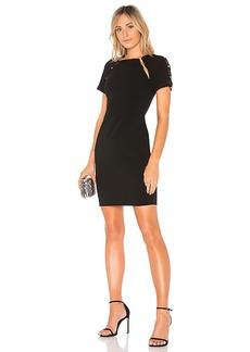 Alice + Olivia Kristiana Dress in Black. - size 0 (also in 2,4,6)
