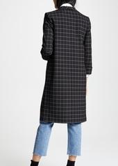 alice + olivia Kyle Long Collar Jacket