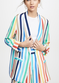 alice + olivia Kylie Easy Shawl Collar Jacket