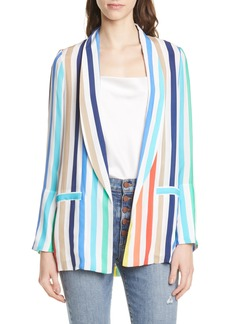 Alice + Olivia Kylie Shawl Collar Jacket