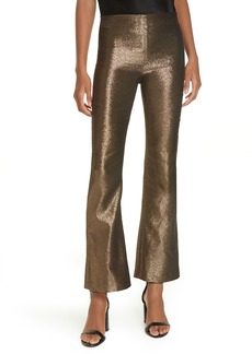 Alice + Olivia Kylyn High Waist Flare Leg Crop Pants
