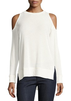 Alice + Olivia Landon Cold-Shoulder Sweater