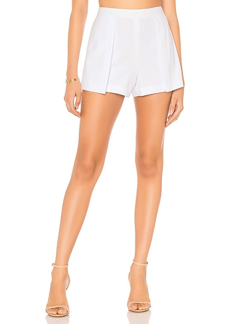 a2a93c33e5 Alice + Olivia Alice + Olivia Larissa Open Pleat Front Short