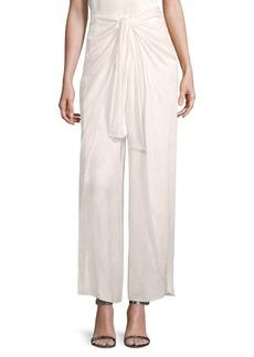 Alice + Olivia Larissa Tie-Waist Pants