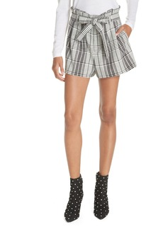 Alice + Olivia Laurine Paperbag Shorts