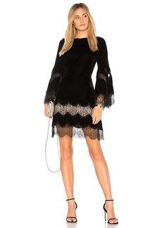 Alice + Olivia Leann Dress in Black. - size M (also in S,XS)