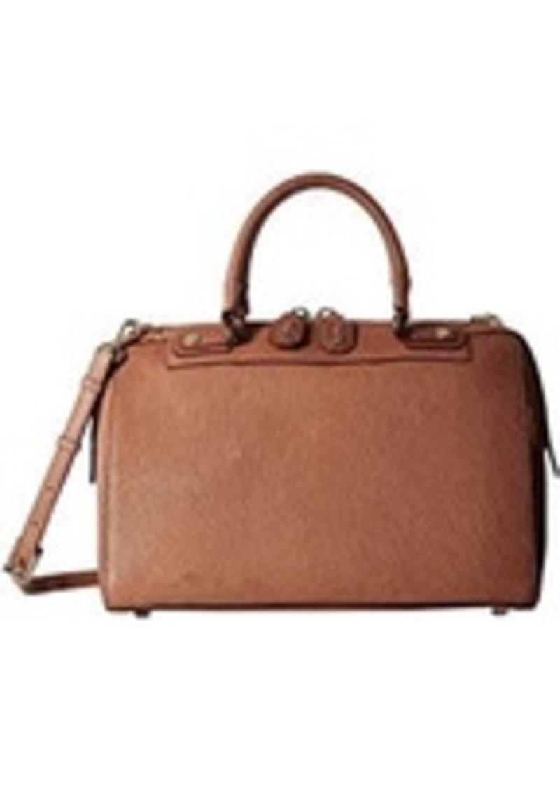 Alice Olivia Leather Eloise Bowler Bag