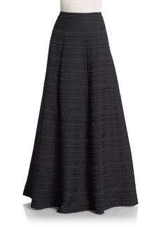 Alice + Olivia Lexia Jacquard A-Line Skirt