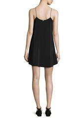Alice + Olivia Lilla Spaghetti Strap Swing Tunic Dress