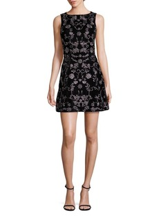 Alice + Olivia Lindsey Embroidered Dress