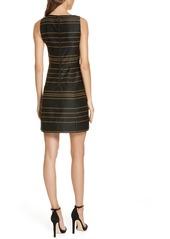 Alice + Olivia Lindsey Structured A-Line Dress