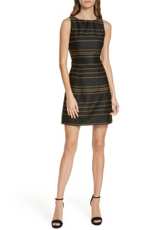 Alice + Olivia Lindsey Structured A-Line Dress