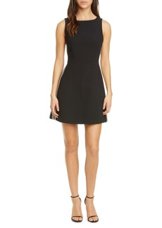 Alice + Olivia Lindsey Structured Fit & Flare Dress