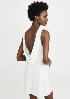 alice + olivia Lita Cowl Back Shift Dress