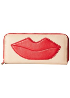 Alice + Olivia Long Wallet with Lip