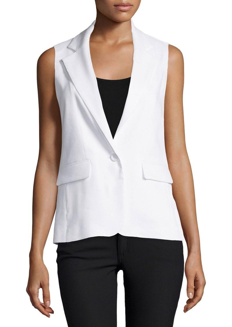 Alice + Olivia Lorelei Single-Button Vest