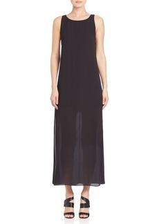 Alice + Olivia Lucia High-Slit Maxi Dress