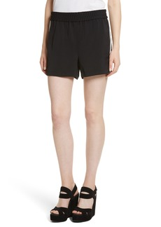 Alice + Olivia Ludlow Striped Shorts