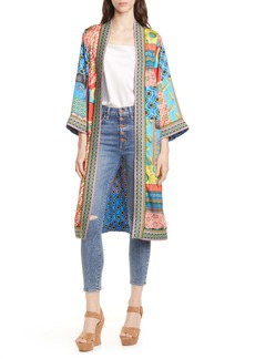 Alice + Olivia Lynn Pattern Mix Jacket