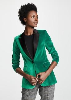 alice + olivia Macey Notch Collar Blazer