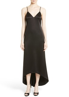 Alice + Olivia Maisie High/Low Maxi Dress