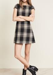 alice + olivia Malin Crew Neck Dress
