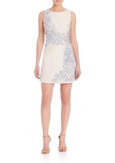 Alice + Olivia Malin Embroidered Dress