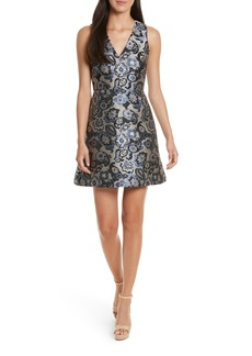 Alice + Olivia Malin V-Neck Dress