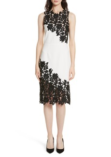 Alice + Olivia Margy Sheath Dress