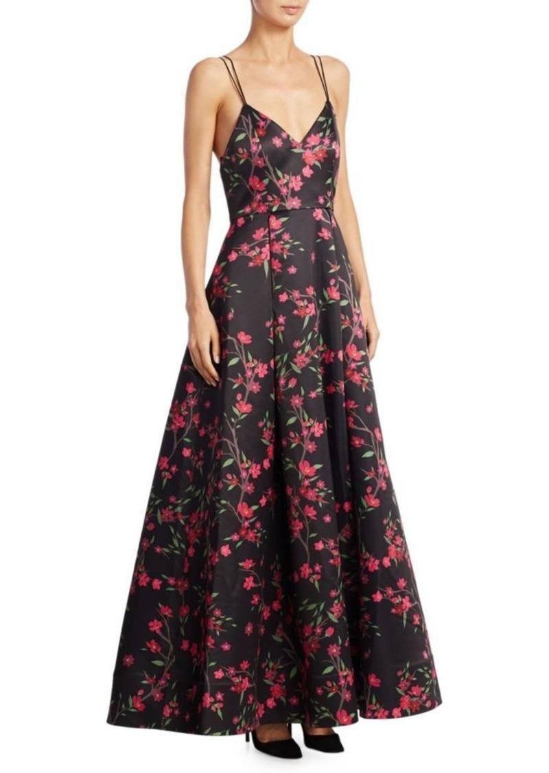 Alice + Olivia Alice + Olivia Marilla Floral Gown | Dresses