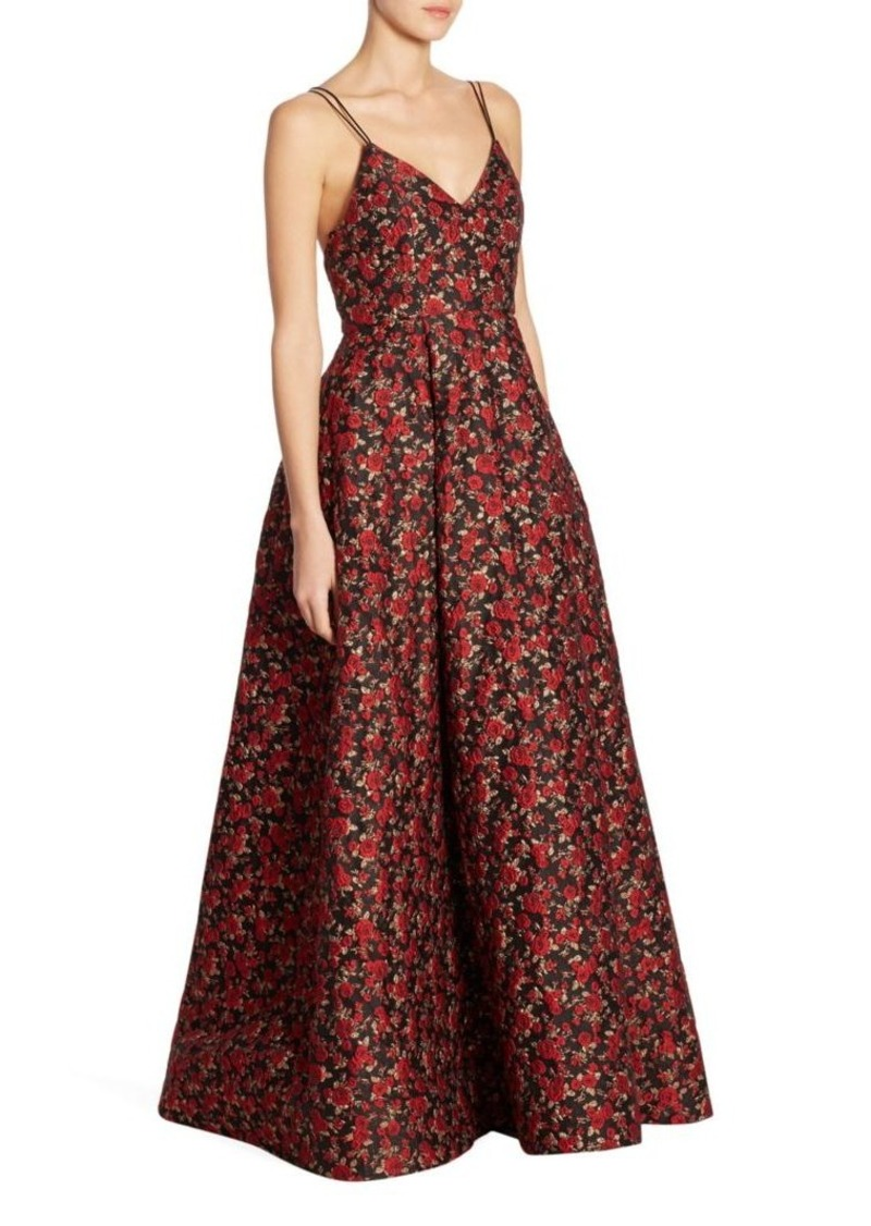 Alice + Olivia Marilla Floral Gown | Dresses