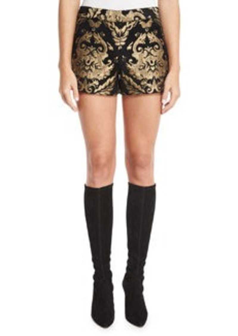 2ed69ab8458c Alice + Olivia Alice + Olivia Marisa Baroque Embroidered Shorts ...