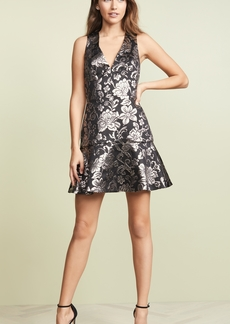 alice + olivia Marleen Flounce Dress