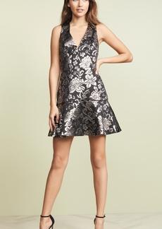 alice + olivia Marleen Flounce Dress