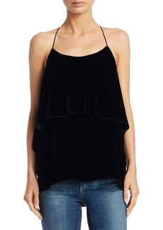Alice + Olivia Marybeth Layered Ruffle Top