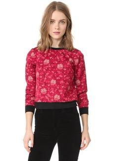 alice + olivia Marylou Back Zip Sweatshirt