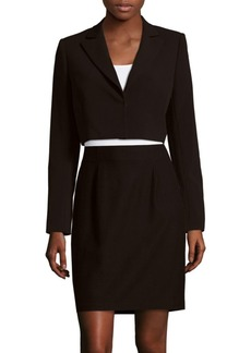 Alice + Olivia Maya Notch Collar Blazer