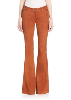 Alice + Olivia Mid-Rise Flared Jeans