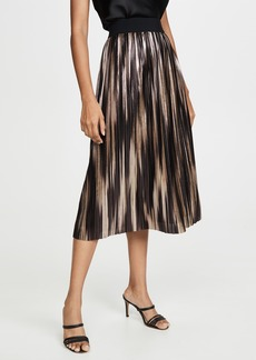 alice + olivia Mikaela Pleated Skirt