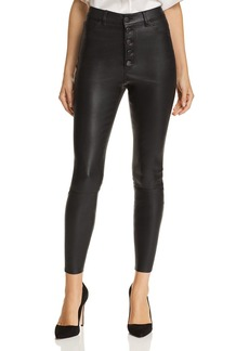 Alice + Olivia Mikah Leather Pants