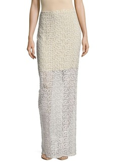 Alice + Olivia Misha Fitted Maxi Skirt