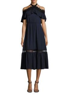 Alice + Olivia Mitsy Off-the-Shoulder Dress
