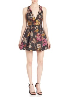 Alice + Olivia Mollie Fit-&-Flare Dress