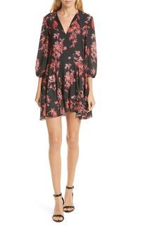 Alice + Olivia Moore Blouson Sleeve Dress