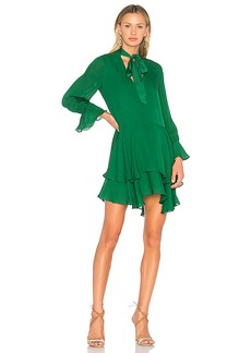 Alice + Olivia Moore Dress in Green. - size S (also in M,XS)