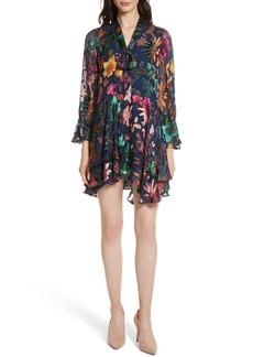 Alice + Olivia Moore Layered Skirt Tunic Dress