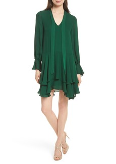 Alice + Olivia Moran Tiered A-Line Dress