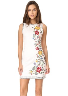 alice + olivia Nat Embroidered Dress
