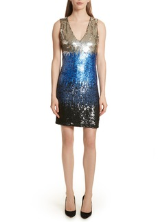 Alice + Olivia Nat Sequin Minidress