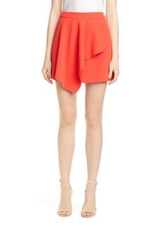 Alice + Olivia Nicky Asymmetrical Miniskirt